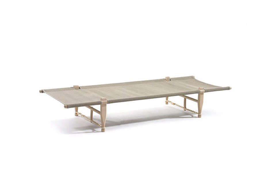 The OGK Daybed Camp Cot in Beech/Linen is $36src=