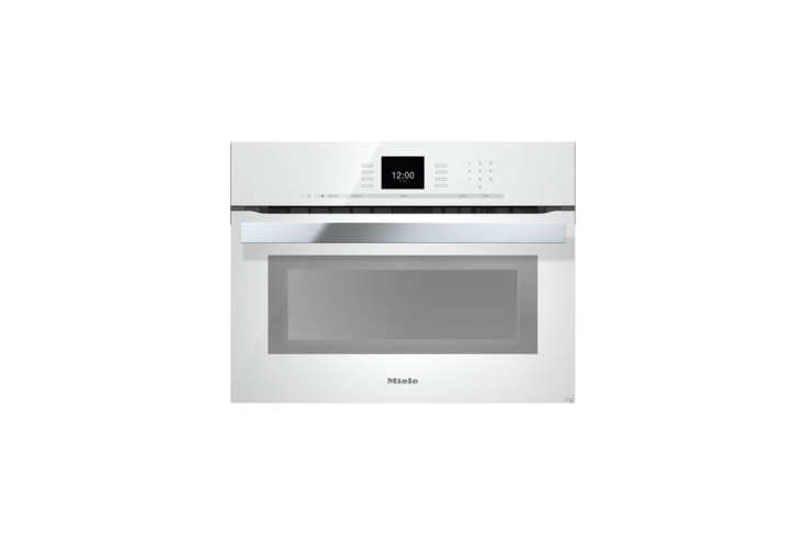 for a us version of the white wall oven, the miele pureline sensortronic \24 in 13