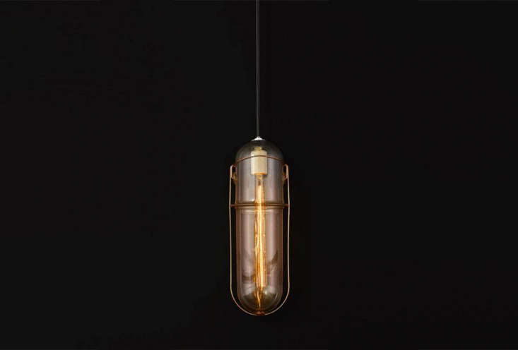 The light measures  inches long and 5.5 inches wide with about 40 inches of black cord.