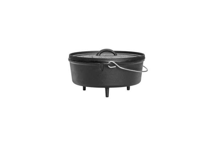 The Poler Cast Iron Dutch Oven;$54.95.
