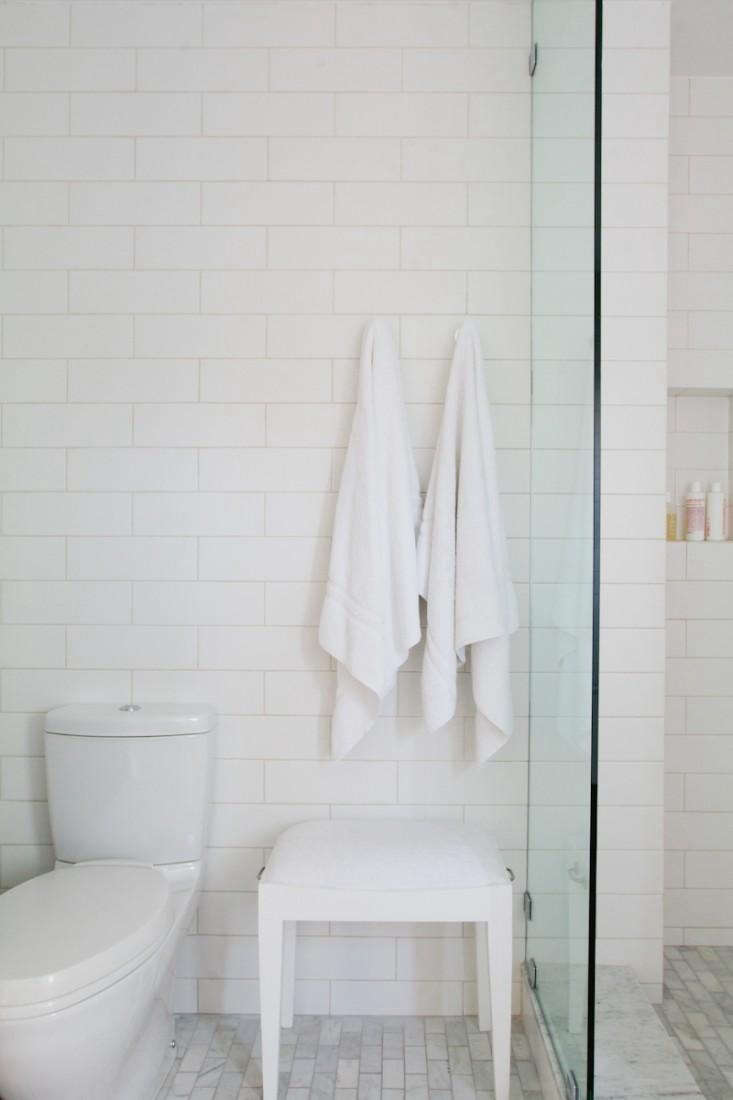 Bath Towels 101 What to Know Before You Buy PhotographybyJessica Comingorefor Remodelista, from Steal This Look: A Barbara Bestor Designed Master Bath in LA.