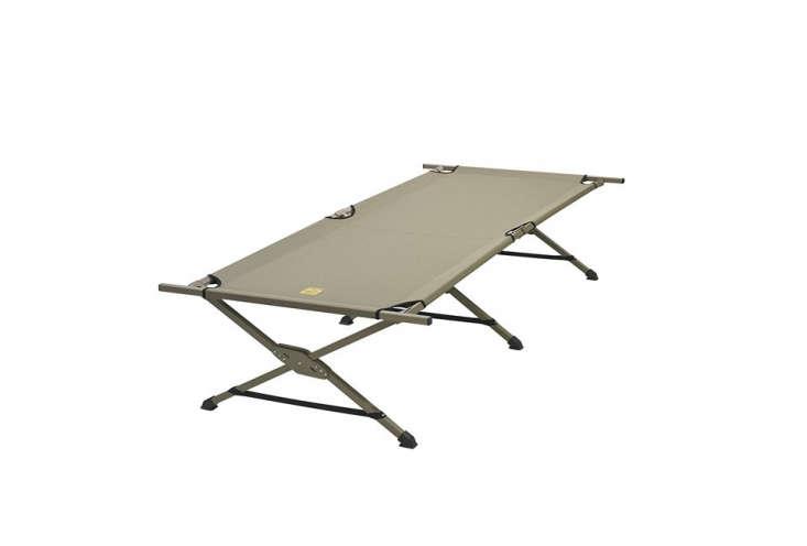 slumberjack&#8\2\17;s tough cot has a 350 pound capacity;\$8\1.99 on amaz 10