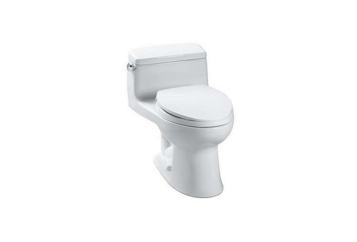 the toto ultramax ii one piece toilet with sanagloss is \$563.50 at yliving. 13