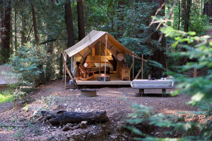 Venerable Big Sur resort Ventana recently launched a -tent &#8