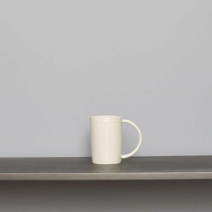 white ceramic handmade mug