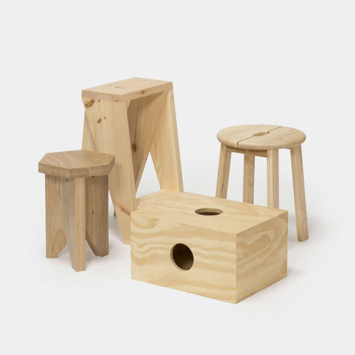 aao stools barcelona collection
