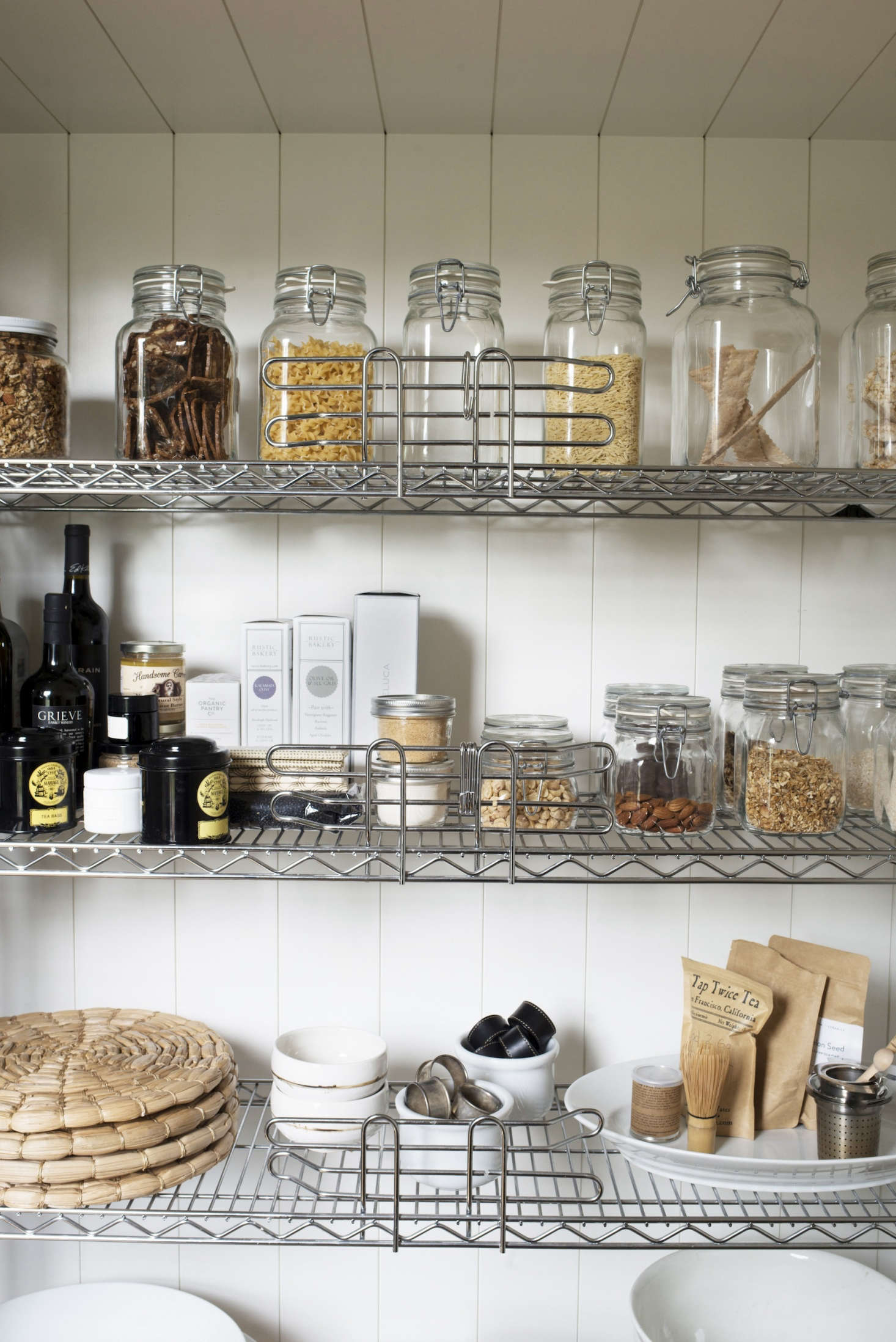 Says Mill Valley, California architect Barbara Chambers of her own pantry, &#8