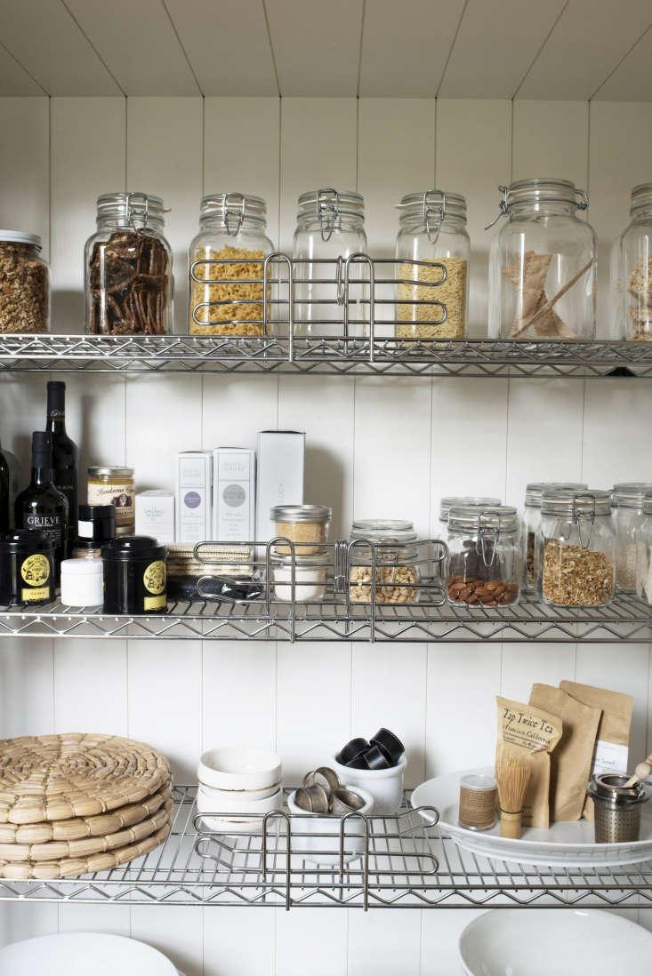 barbara chambers organized kitchen pantry white paneling