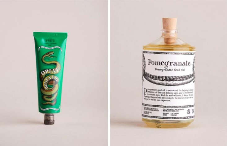 Julie recentlydiscoveredBuly 03, a Parisian brand of apothecary-style potions made using ingredients such asazuki powder and amaranth seed oil. The Opiat Dentaire toothpaste is € ($