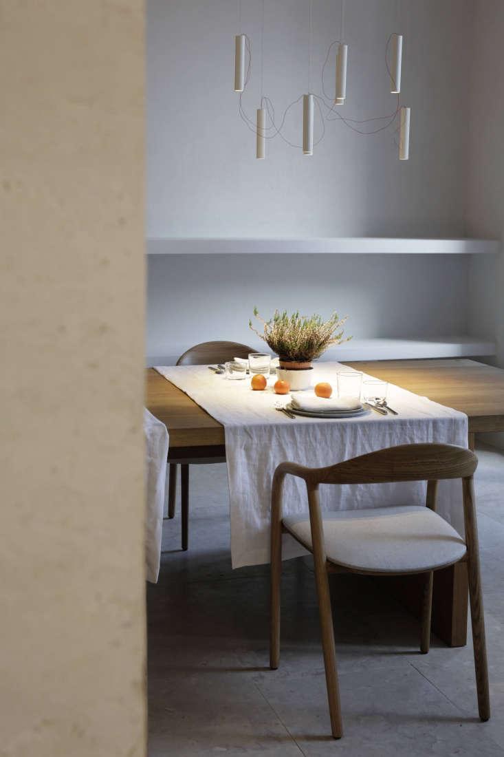 dining room santa clara hotel portgual modern light fixture