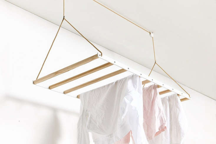 Object of Desire A Hanging Laundry Rack from a New Zealand Maker The system &#8\2\20;quickly dries laundry by utilizing warm air trapped in the ceiling space,&#8\2\2\1; according to the makers.