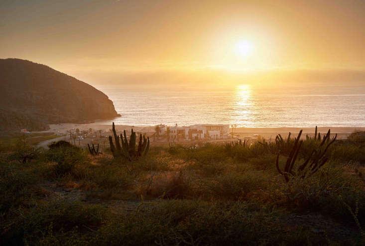 hotel san cristobal mexico view cactus ocean