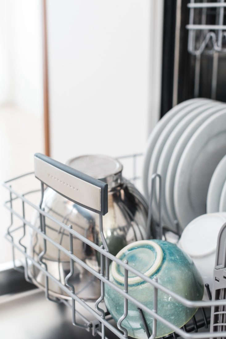This Bosch dishwasher fits up to  complete place settings.