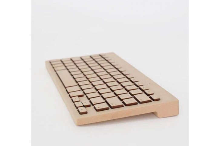 For her husband—who takes notes the new-fangled way—Margot has her eye on a Board Essential keyboard, cut from a single piece of maple (it comes with a lifetime warranty). Also available in walnut, the keyboard is $9.
