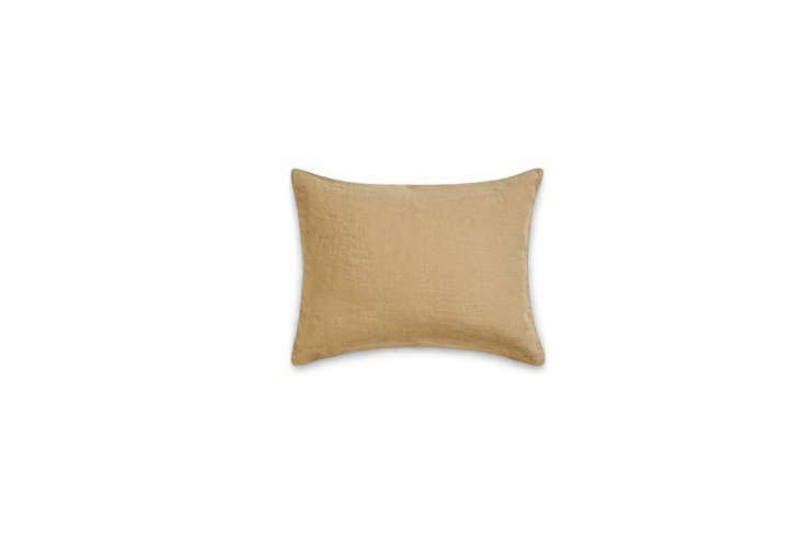 The Rectangular Washed Linen Pillowcase in Blister Beige is €39 at Merci in Paris.