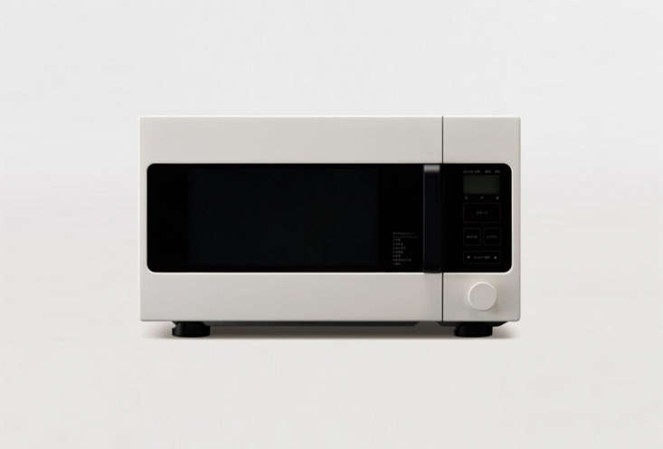 Designed by Naoto Fukasawa, the Muji Microwave Oven is available in Japan but not yet in the US. See our postAppliances for Minimalists: The Muji Toaster Oven and Moreto learn about the line.