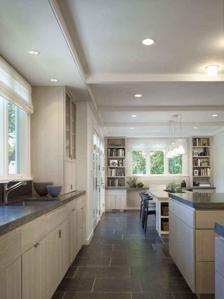 neutral kitchen stone floors from considered design awards