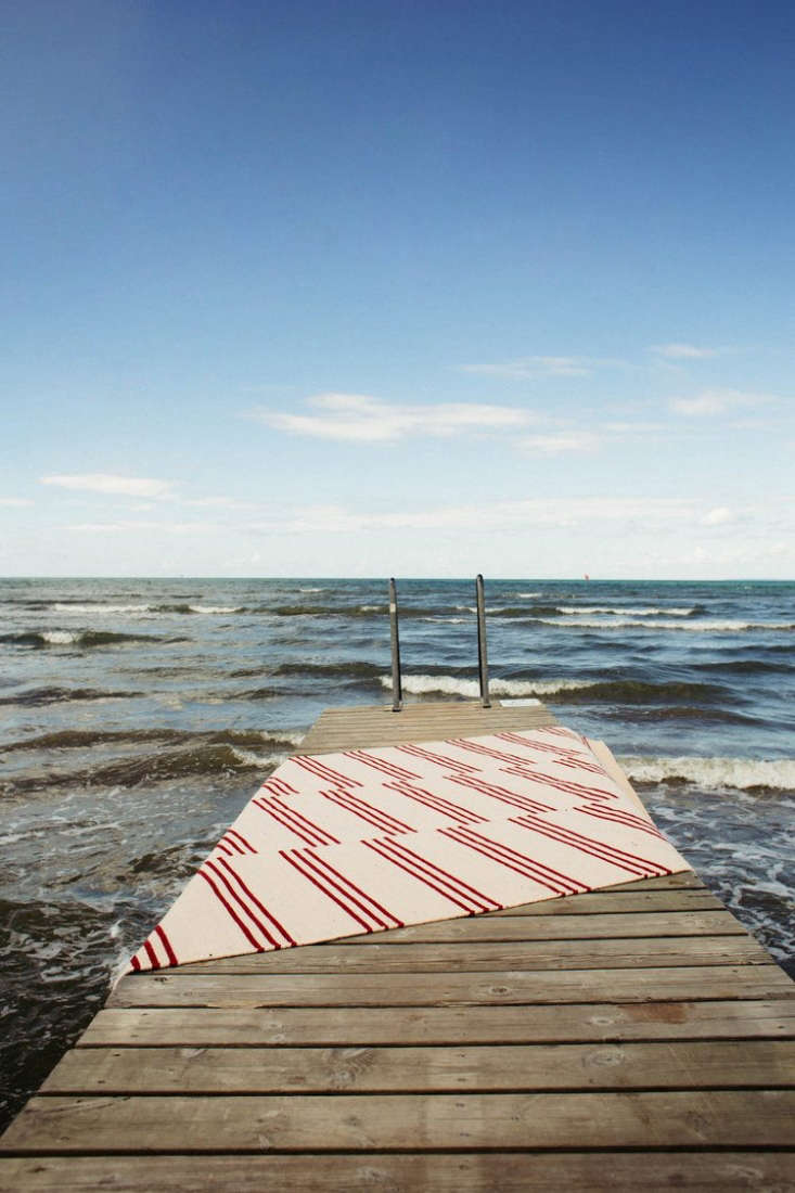 into july. photograph fromnordic knots: scandi inspired rugs with a nautical  9