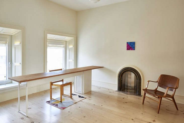 reclaimed new face heart pine flooring in a carroll gardens home remodeled by a 13