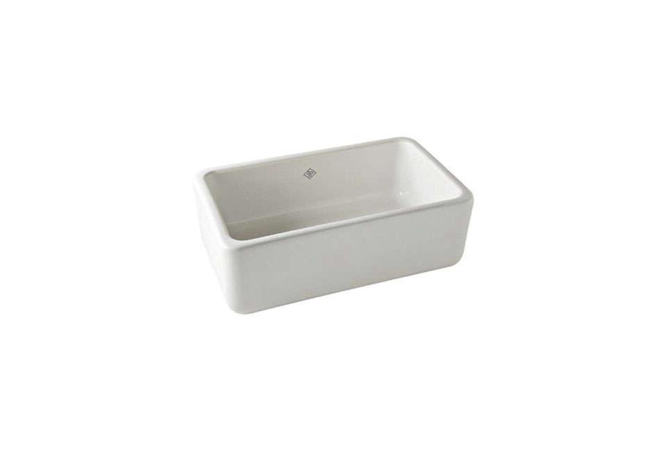10 Easy Pieces White Kitchen Farmhouse Sinks Remodelista