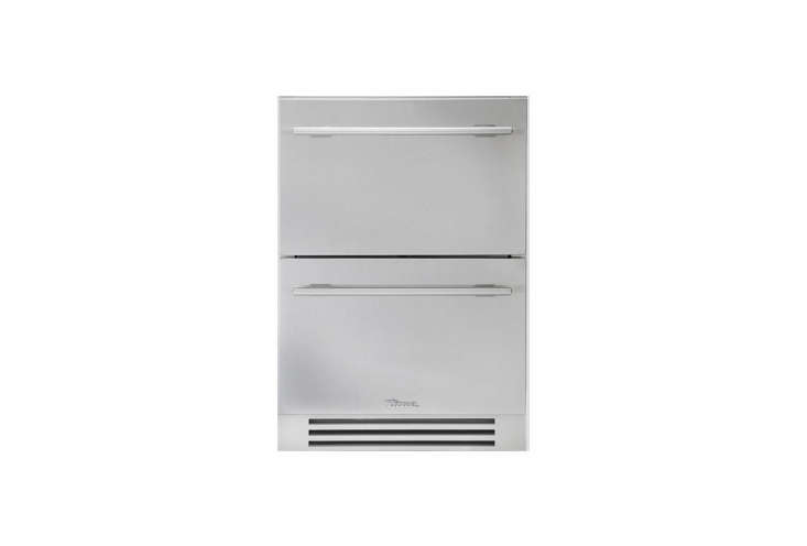 10 Easy Pieces The Best UnderCounter Refrigerator Drawers Commercial refrigerator company True offers a residential set of two \24 inch Stainless Steel Under Counter Refrigerator Drawers. Go to True for dealers and pricing.
