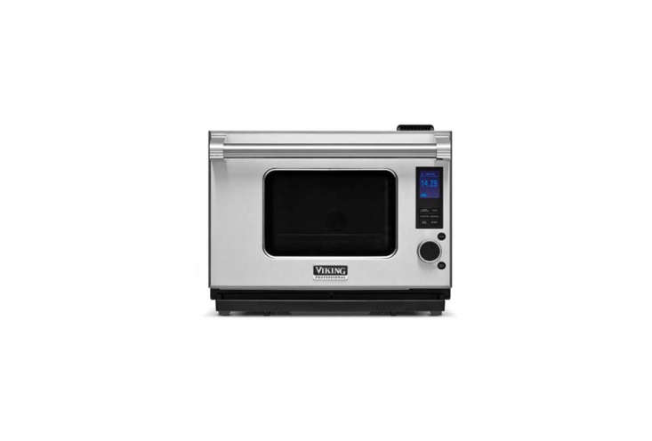 The Viking Professional Series Countertop Combi-Steam/Convect Oven has microwave, convection, steam, and steam convection capability; $