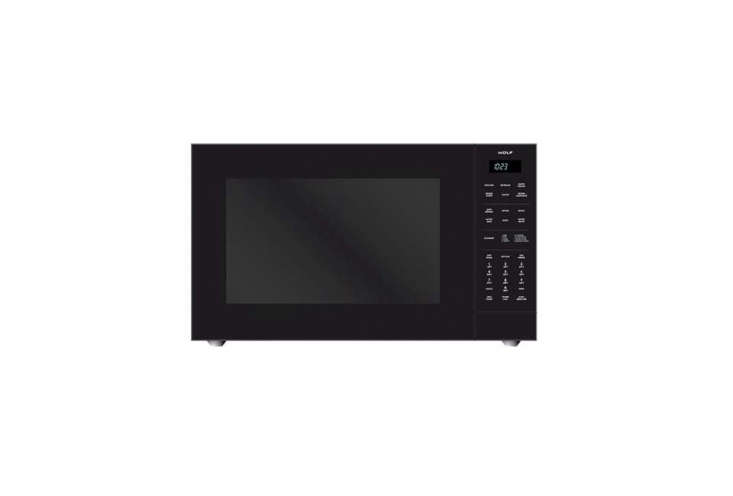 The Wolf Countertop Microwave Oven is loading=