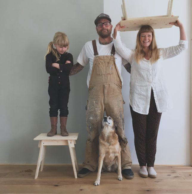 woodchuck furniture family photo