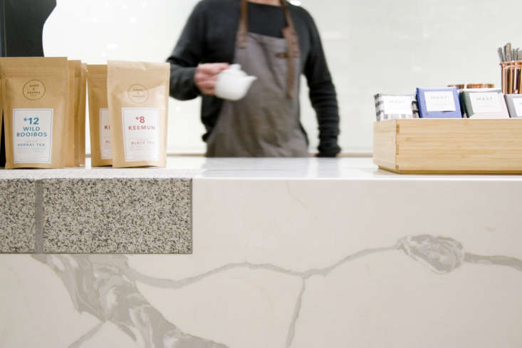 for visual interest, mix two or three kinds ofstone—with care. at catalyst, 12
