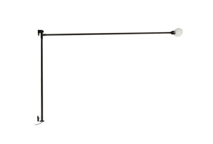 Designed by Charlotte Perriand in 38, the Potence Pivotante Wall Lamp is still manufactured by Nemo Lighting; $65
