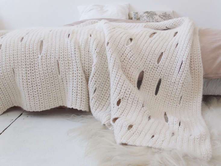 the heavyweight cotton 4.5 by 7 footbirkir blanket is striped with mohair and 12