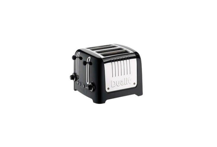 The Dualit DL4B 4-Slice Toaster Black is available for £79.99 at Currys in the UK. For a US option, the Dualit New Generation Classic 4-Slice Toaster in Matte Black for $3.95 at Williams-Sonoma.