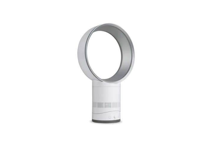the dyson air multiplier table fan in white is \$\299.99 at amazon. 19