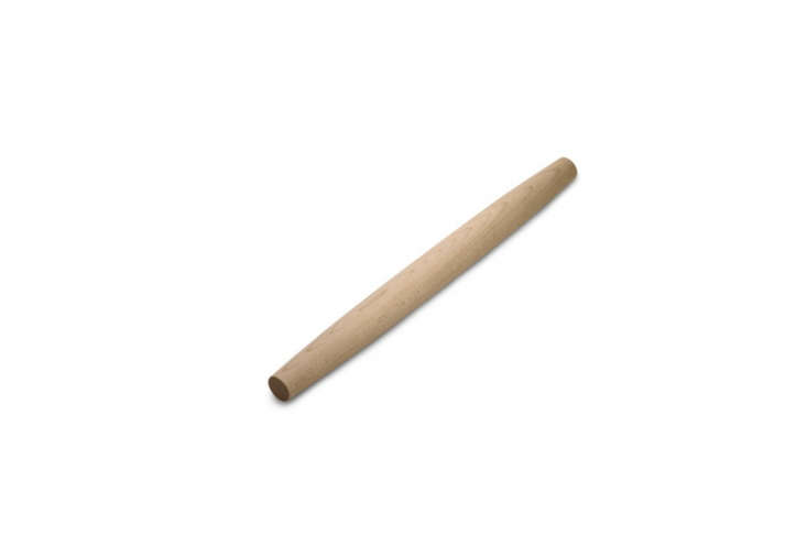 AFrench Style Rolling Pin made in Maine from hard rock sugar maple is $9.99 at Bed, Bath & Beyond.