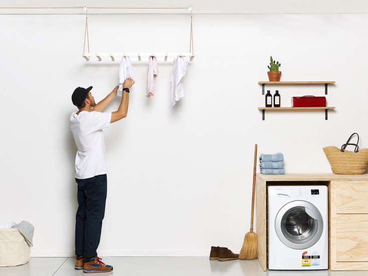 The duo devised their Hanging Drying Rack, $
