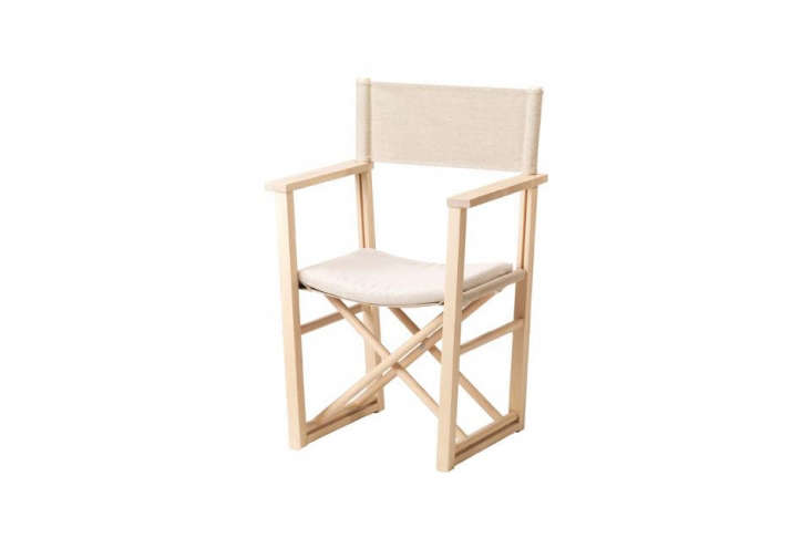new at ikea: the björksnäs director&#8\2\17;s armchair is \$98 and has a  11