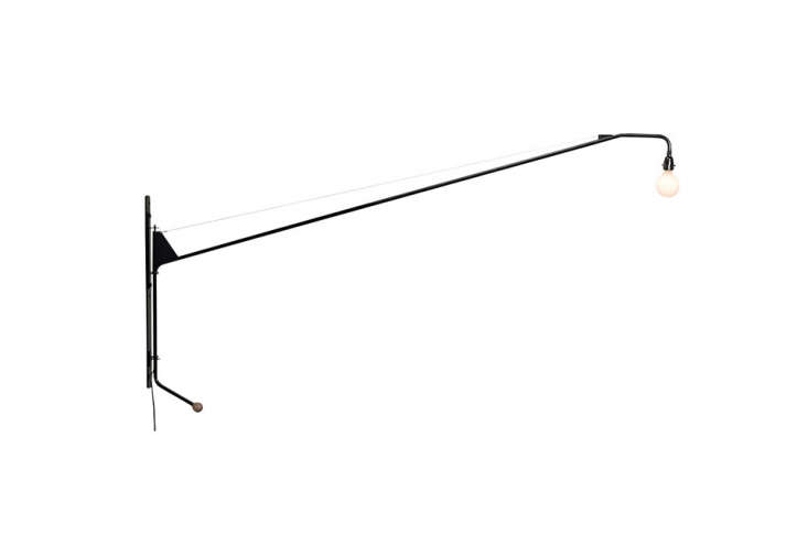 Jean Prouvé's Potence Lamp, produced today through Vitra, is $