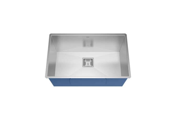 The Kräus Pax Stainless Steel Kitchen Sink in  gauge stainless is available through Kräus dealers.