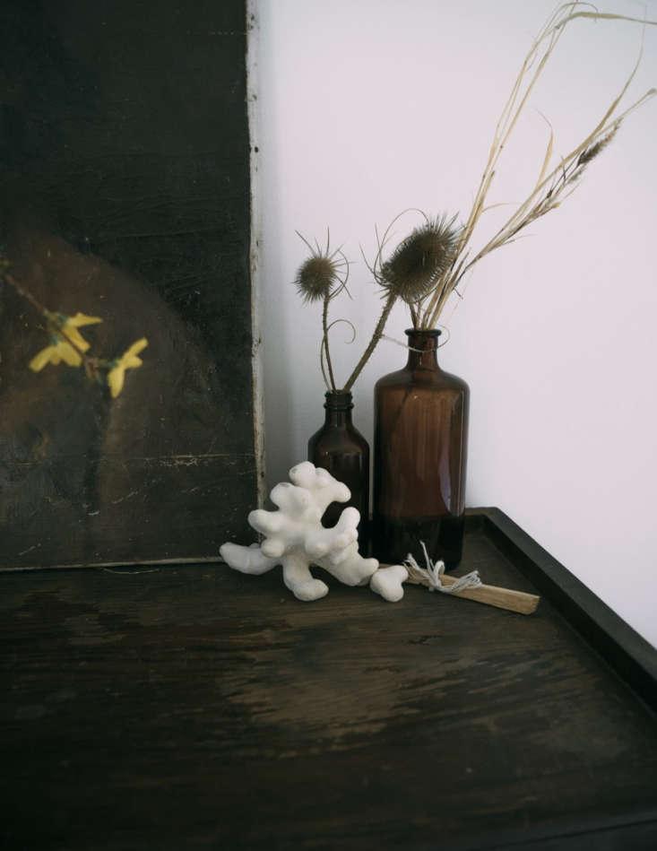 a vignette on a dresser. 21