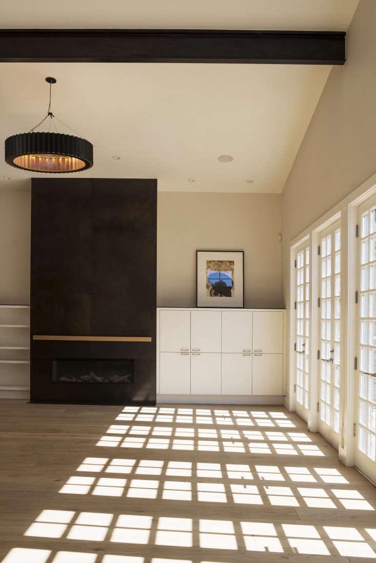 living room filbert cottages san francisco unit a black fireplace 1