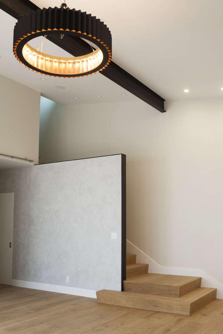living room stair filbert cottages san francisco modern chandelier