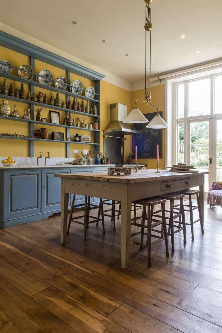 max rolitt uk colorful kitchen wood table and floors