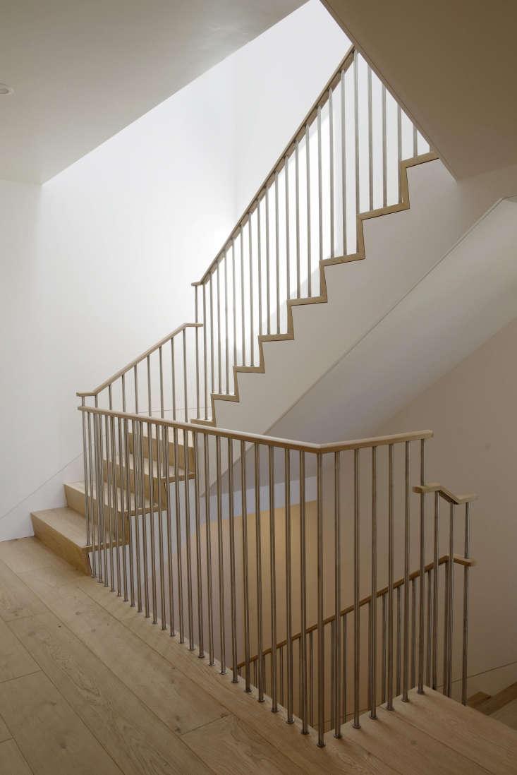 oak stairway san francisco filbert cottages rehab