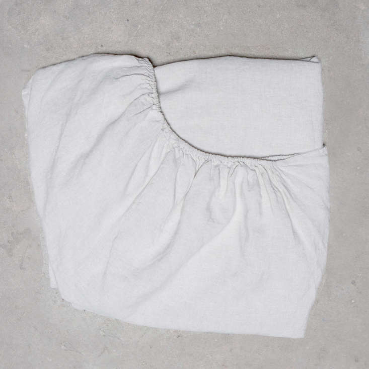 The Toogood Linen Fitted Sheet is €5 ($4).