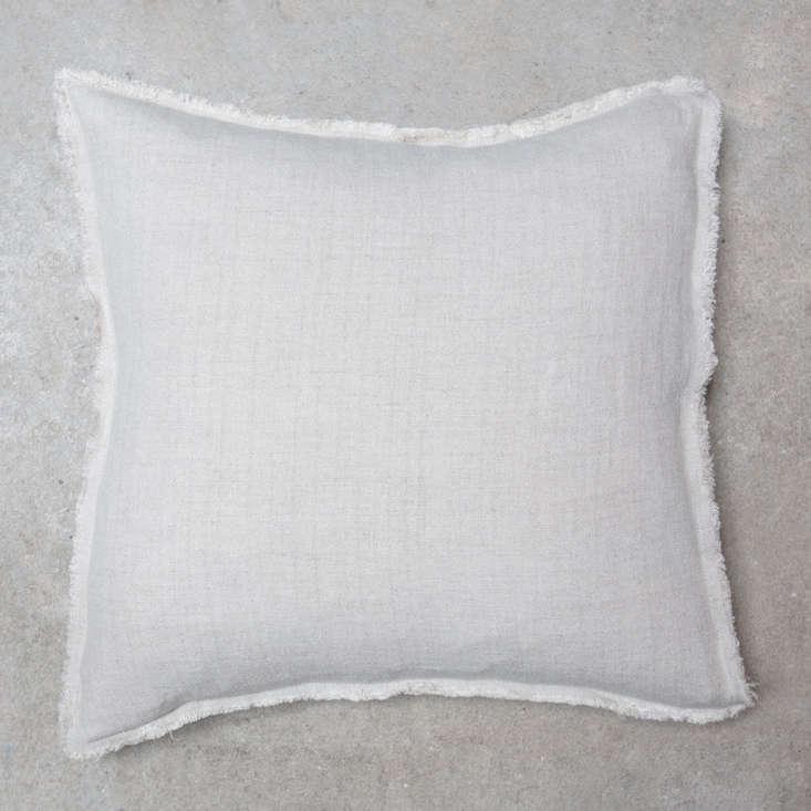 thetoogood linen oxford cushionin white; €58 (\$67.5\2). 15