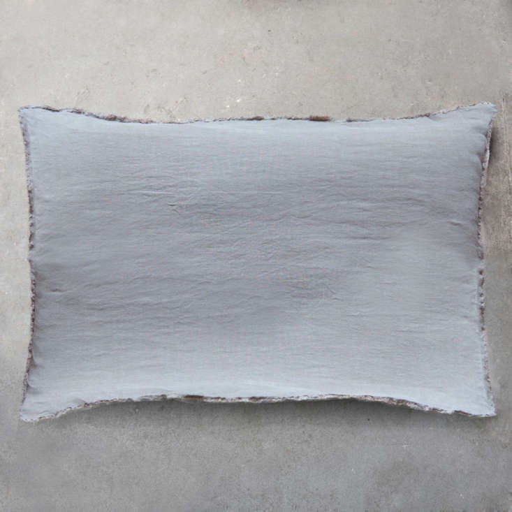 A Toogood Linen Pillowcase, shown here in subtle natural, is also €58 ($68).