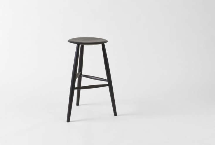 Sawkille Co. Bar Stools in Ebonized Black Walnut are $950 each at March.