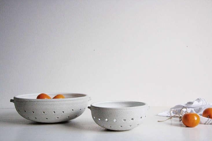 sheldon ceramics vermont colanders