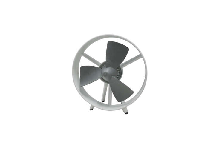 the \10 inch tallsoleus air soft blade table fan has safe to touch gray blade 17