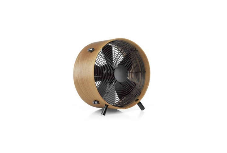 the whisper quietotto fan from swizz style is made of oiled african sapele wo 16